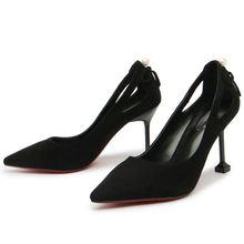 2018 женские туфли лодочки; Модные лодочки на шпильке с острым