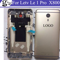 For Letv 1 Pro X800 Battery Cover Back cover back housing case with side buttons +Back Camera glass by free shipping