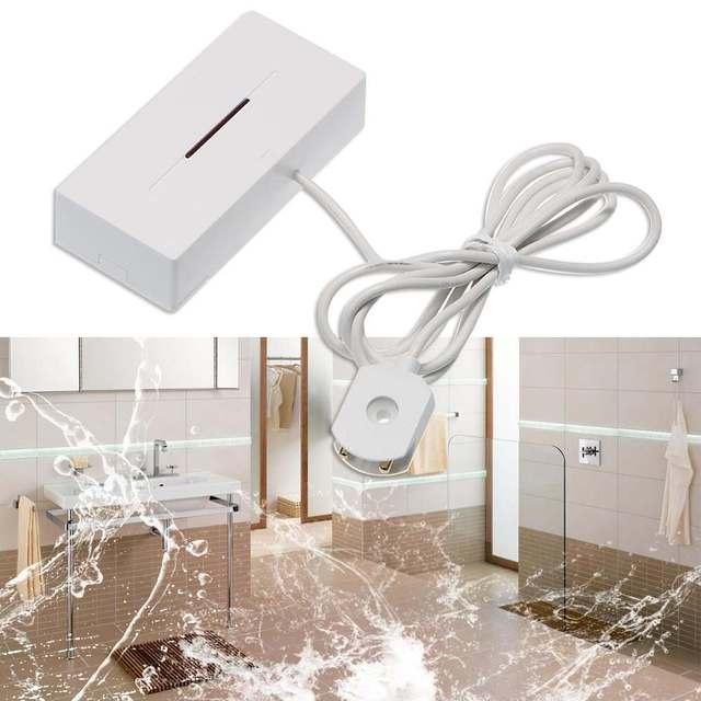 433MHz Wireless Water Leakage Sensor Water Leak Intrusion Detector Alert Water Level Overflow Alarm Works With SONOFF RF Bridge