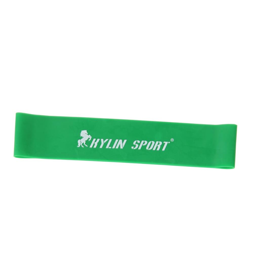 Látex verde ejercicio de resistencia ejercicio pilates yoga bandas - Ropa deportiva y accesorios