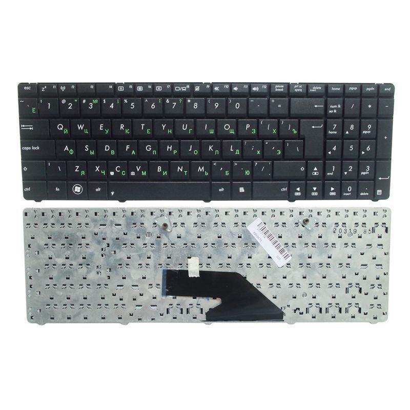 RU New FOR ASUS K75 K75D K75DE K75A K75V K75VJ K75WM Black Laptop Keyboard Russian