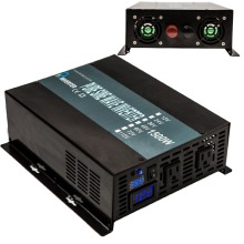 цена на From AU/US Warehouse LED Display 3000W Peak 1500W Off Grid 12V/24V 120V/240V DC AC Converter Pure Sine Wave Power Inverter