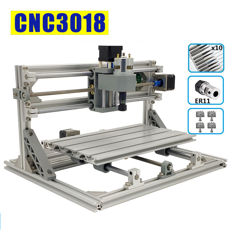 Mini 3018 Laser Engraving CNC Machine With 1GB TF Memory Card for Wood PCB PVC 8