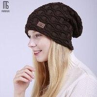 Womens winter beanies warm hats wavy knit cappello ski bonnet femme gorro invierno tuque hiver casual cute bere erkekler