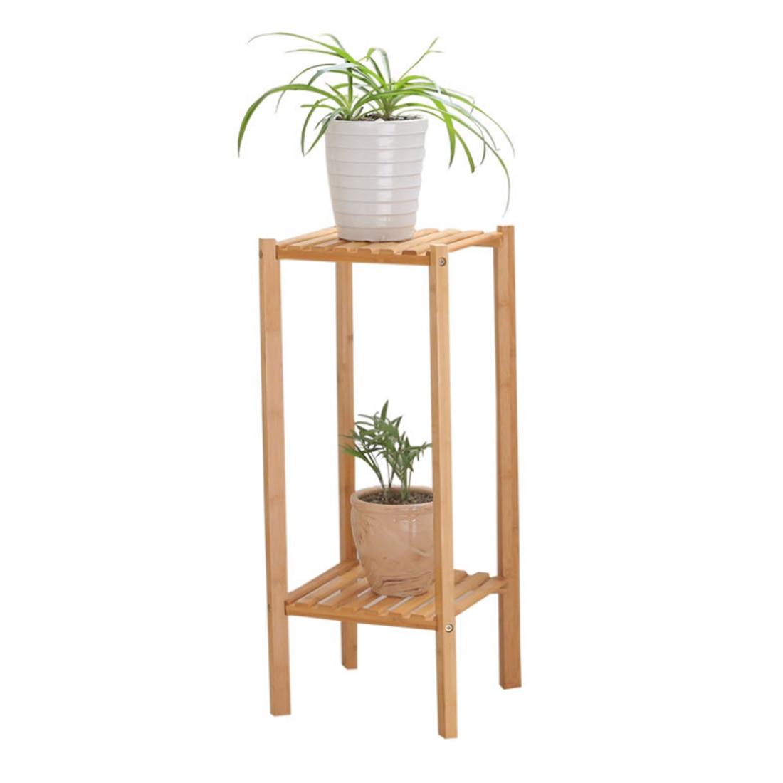 VICTMAX 2018 nouveau 2-tier créatif étagère de stockage de plantes saumâtre plante Pot de fleur support pour balcon fournitures de jardin