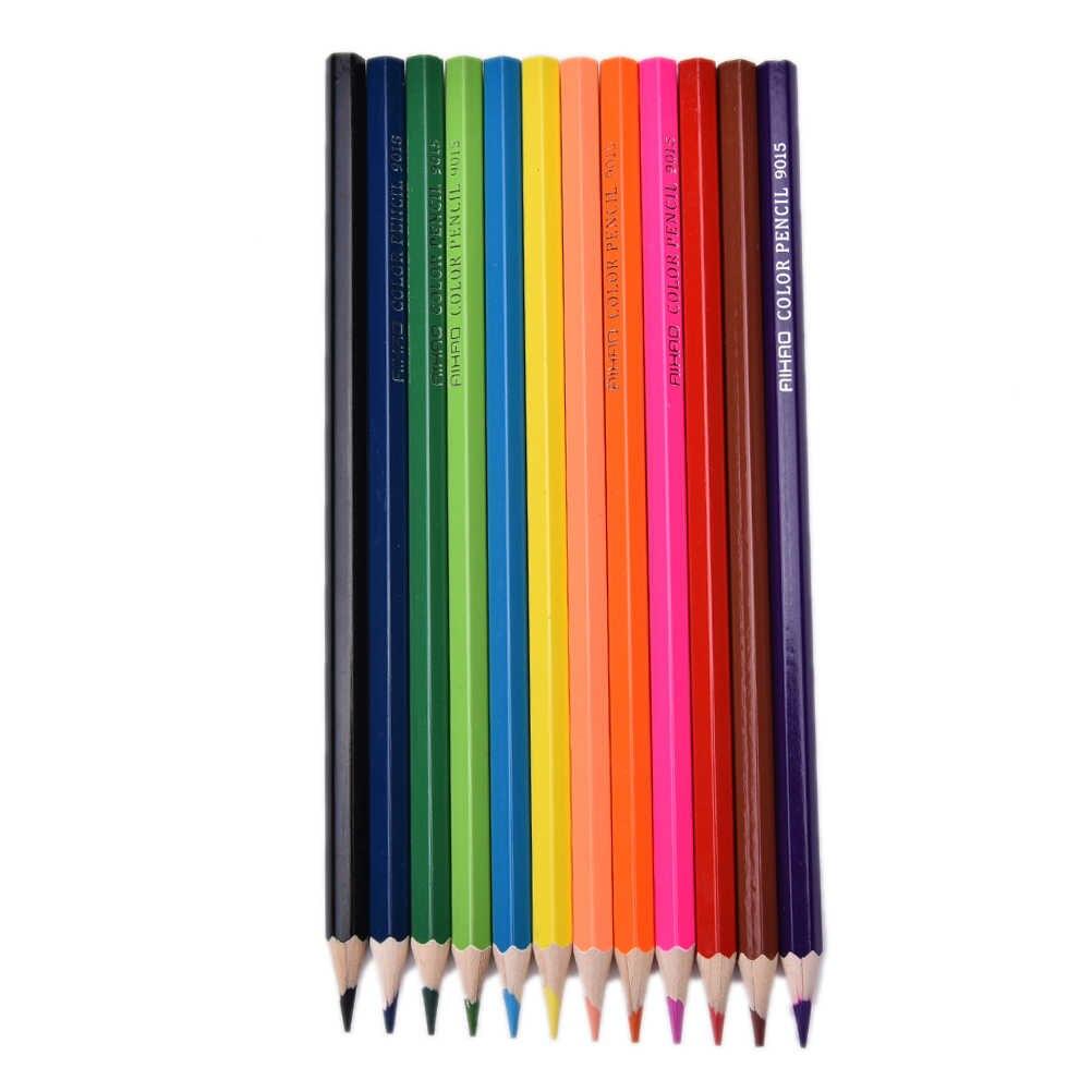 36 ציוד לבית ספר משרד מכתבים עפרון יח'\סט עפרונות צבעוניים לציור Colores שונה עיפרון סט