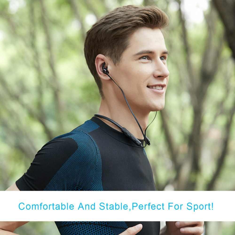 Wavefun Flex Pro szybkie ładowanie pomocy i współpracy administracyjnej słuchawki Bluetooth bezprzewodowy/a słuchawki IPX5 wodoodporna sport zestaw słuchawkowy dla iPhone xiaomi LG