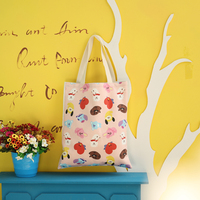 2018 Eco Reusable Shopping Bags Cloth Fabric Packing Recyclable Bag Hight Simple Design Healthy Tote Korea