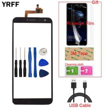 5.5 Mobile TouchScreen Touch Screen For Oukitel C8 Touch Screen Digitizer Panel Sensor Front Glass Protector Film