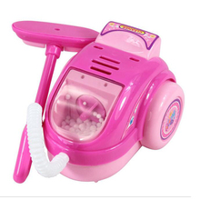 Pretend Play Toy Vacuum Cleaner Toy for Kids Housekeeping Cleaning   Washing Machine Mini Clean Up Play Toy Gifts