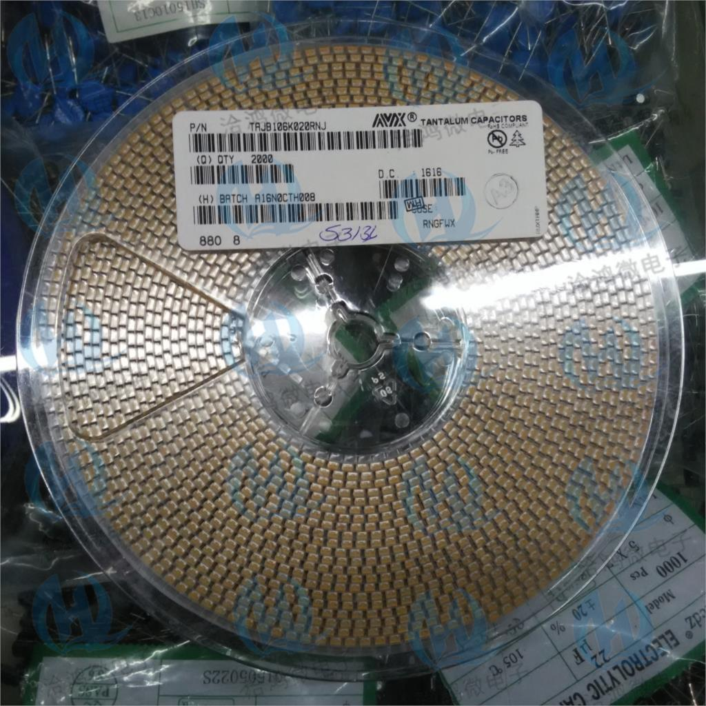 100pcs 1210 25V 22uF 226E B-type 3528 SMD tantalum capacitors
