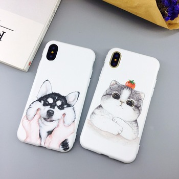 Candy Color Leaf Print Phone Case for iPhone Cactus Plants Fashion Soft TPU Rubber Silicon Cover  4