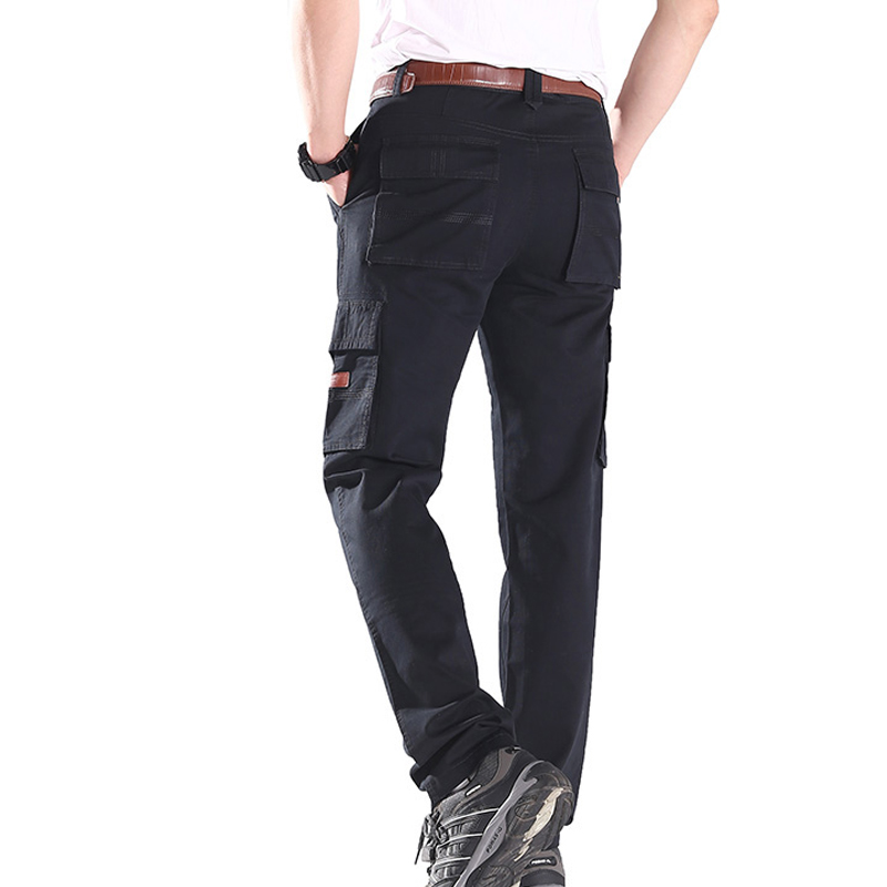 More straight stretch bag height Pants Tactical Military men Thermal Windproof Lightweight Breathable Trousers