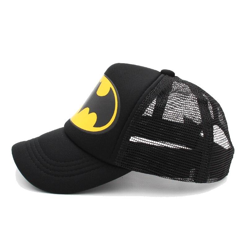 Boys Batman Baseball Cap Flat  Peak Hip Hop