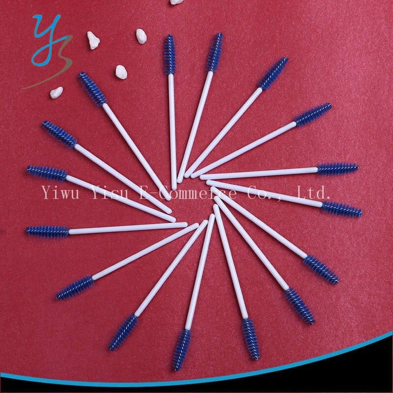 Ferramentas de maquiagem 22000 pcs escovas de plástico descartáveis para  cílios pincel cosméticos Nylon Mascara aplicador Wand pincel de maquiagem  escova 4c7039e24f3