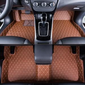 Image 2 - Dywaniki samochodowe WLMWL dla renault logan scenic fluence duster megane captur laguna kadjar wszystkie modele samochodów dywaniki podłogowe