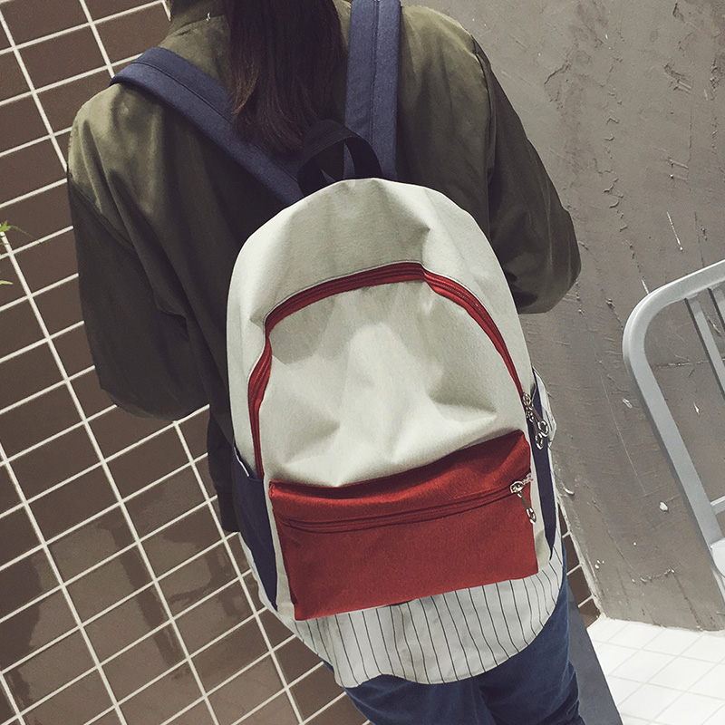2017 Preppy Style Unisex Boys Girls Eastpack Youth School Bag Backpack School Rucksack Contrast Color Travel
