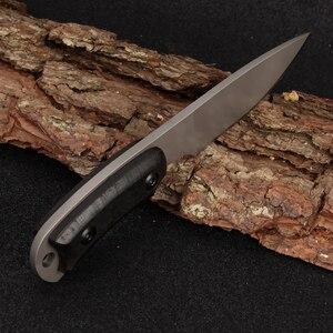 Image 5 - 2017 Full Tang najnowszy nóż taktyczny Survival wyposażenie na kemping kolekcja noże myśliwskie z importowaną osłoną K jako gife