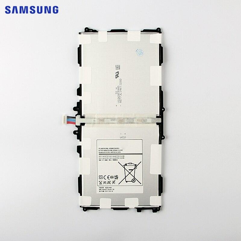 <font><b>Samsung</b></font> оригинальный Планшеты Батарея <font><b>T8220E</b></font> для <font><b>Samsung</b></font> Galaxy Note 10.1 Tab Pro 10.1 P600 P601 P605 SM-P607 SM-T520 SM-T525 8220 мАч