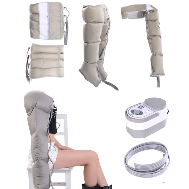 Circulação perna envolve saúde ar compressão perna envoltórios massageador regular pé tornozelos bezerro terapia circulação perder peso