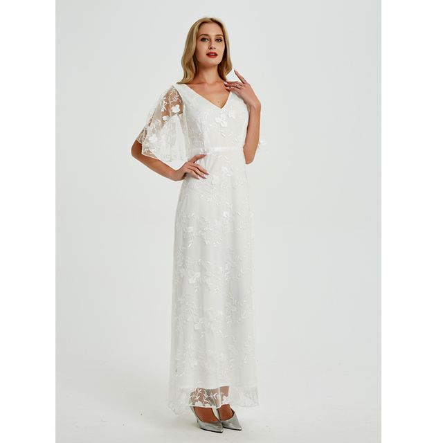 2019 New Women long Dress Sexy Deep V Neck Casual Party Dress Backless Sleeveless White Dresses Vacation Wear 4