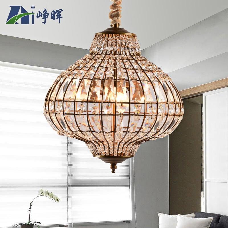 Moderne lustre en cristal cristal lampes haute qualité LED lampes salon lustres E27 led lustre lumière lustres