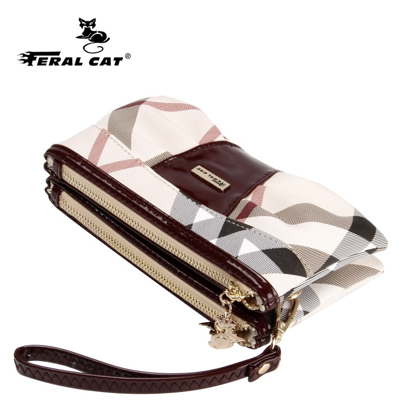FERAL CAT purse Pattern Crossbody Bags For Women 2019 PVC Leather Purses and Handbags New Designer Ladies Shoulder Messenger Bag in Shoulder Bags from Luggage Bags