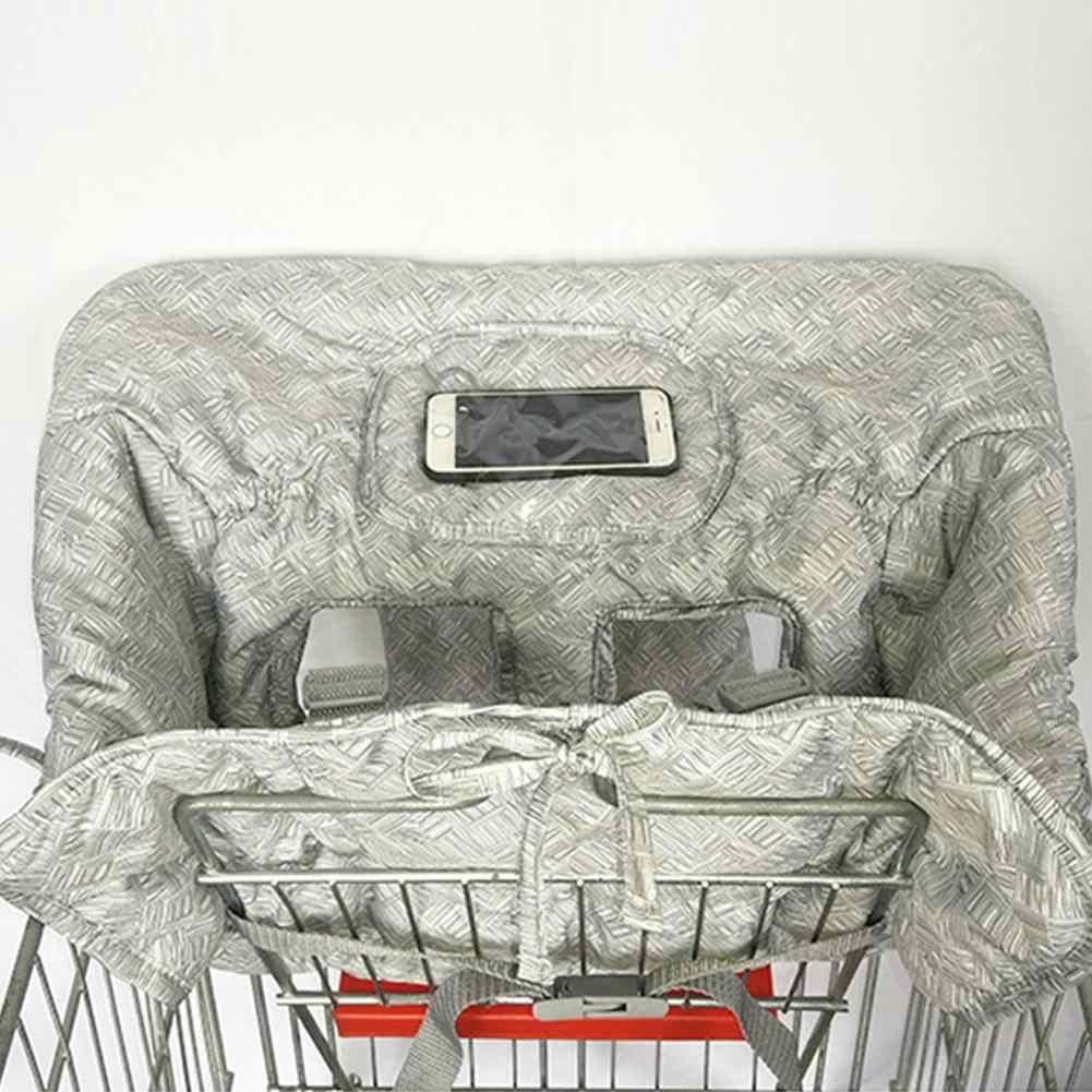 متعددة الوظائف طفل الأطفال عربة تسوق قابلة للطي غطاء طفل التسوق دفع عربة غطاء للحماية مقاعد السلامة للأطفال Portabl
