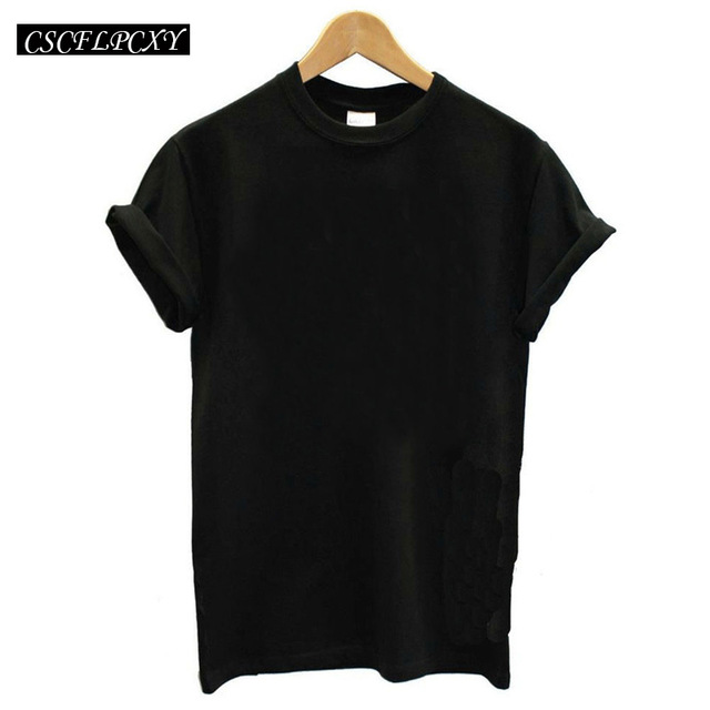 New Fashion Pure Cotton Short Sleeved Women's Tshirt Befree T Shirt Women Candy Colors Female T-shirts Top Tee Friends Tshirt