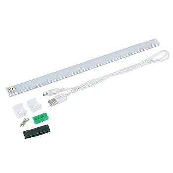 21 LED 6 W USB Sensor de Toque Dimmable LEVOU Barra de Luz Para O Quarto de Cabeceira Gabinete Wardrobe Pura Luz Warm White DC5V