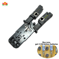 HQ export Multifunction Combo cable Tester telephone line RJ11 RJ45 Multi modular Crimping pliers Removable Network tester Gerny