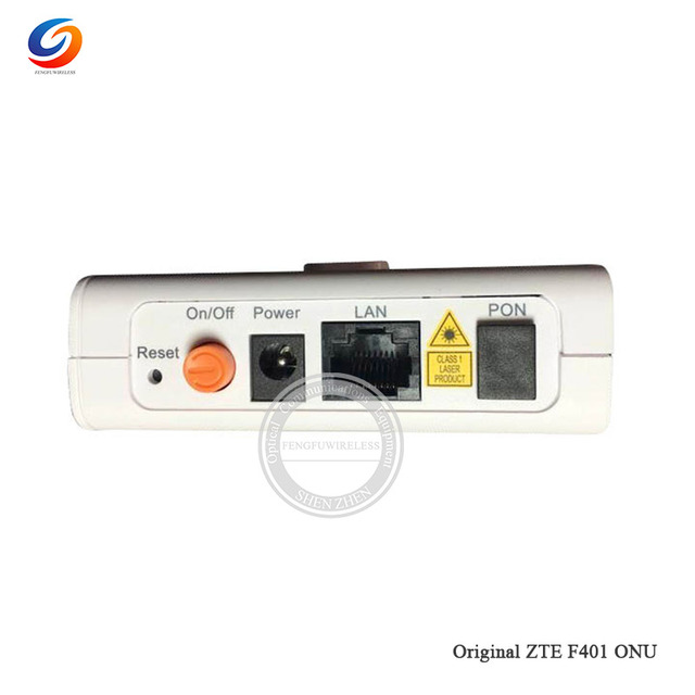 US $21 85 |ZTE ZXA10 F401 EPON ONU ONT FTTH FTTO with 1GE Port same  function as F623 F612W F612, English firewire-in Fiber Optic Equipments  from