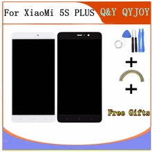 Q&Y QYJOY For Xiaomi Mi5s plus 5S PLUS 5.7″ LCD Display+Touch Screen+frame Assembly Replacement