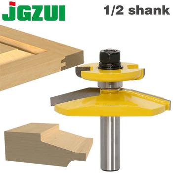 1pc 1 2 #8222 Shank podniesiony Panel frez-Ogee Door-3 #8221 średnica drzwi nóż frez do drewna czop frez do obróbki drewna narzędzia tanie i dobre opinie JGZUI Wolframu stopu kobaltu Woodruff Keyseat Frezów