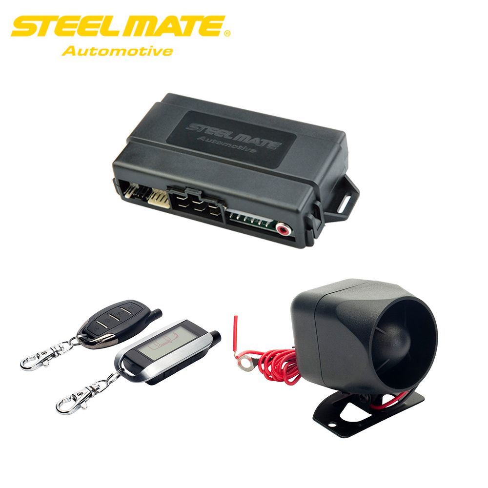 Car Alarm System Steelmate 888X20 Keyless Entry Central locking with remote control Transmitter Auto Start Stop Button Starline shock your friend car remote keyless entry with led flashlight 2 pack