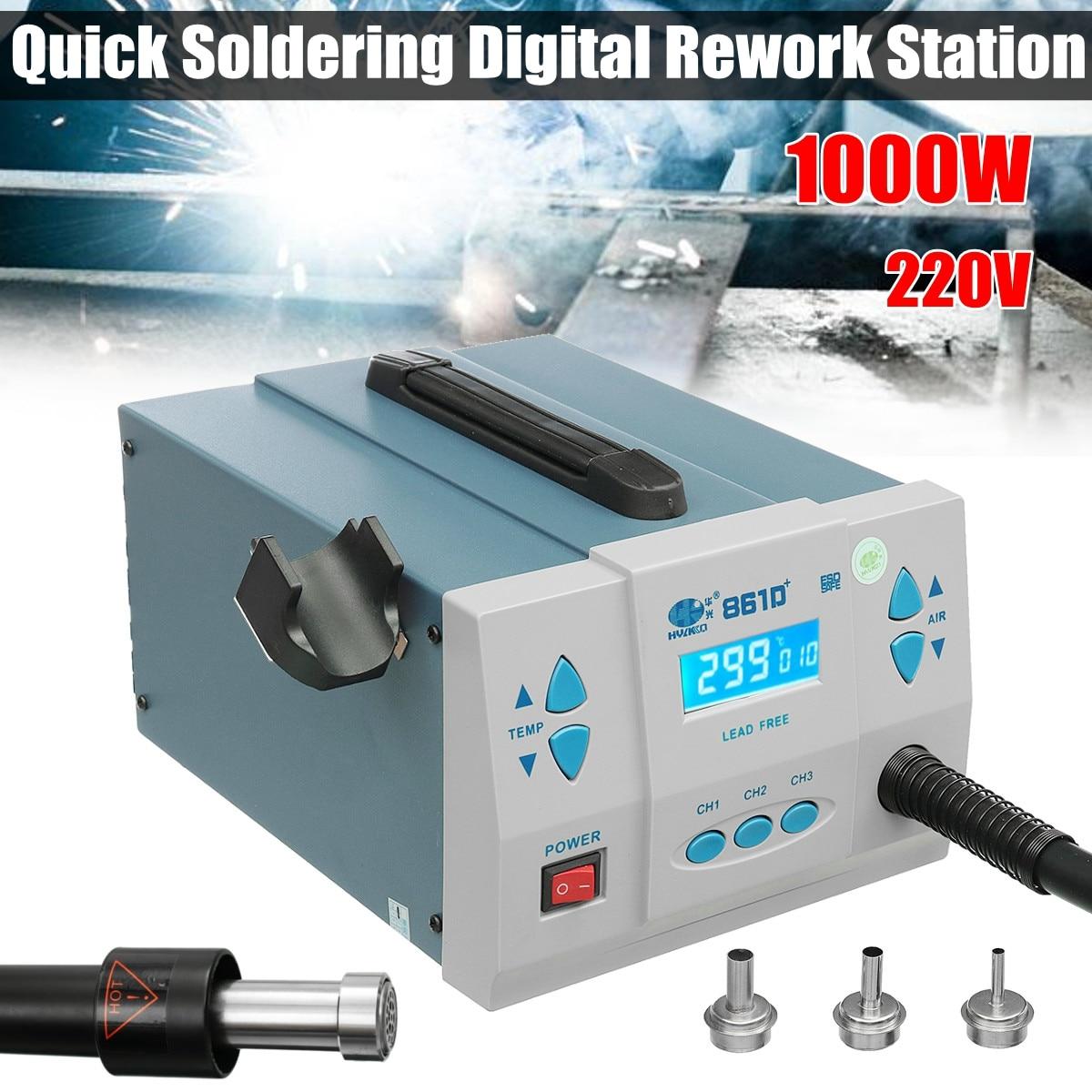 1000 w Termostatica Saldatura Rapida Digitale Stazione di Rilavorazione Senza Piombo Dissaldatura