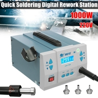 1000W Thermostatic Quick Soldering Digital Rework Station Lead free Desoldering