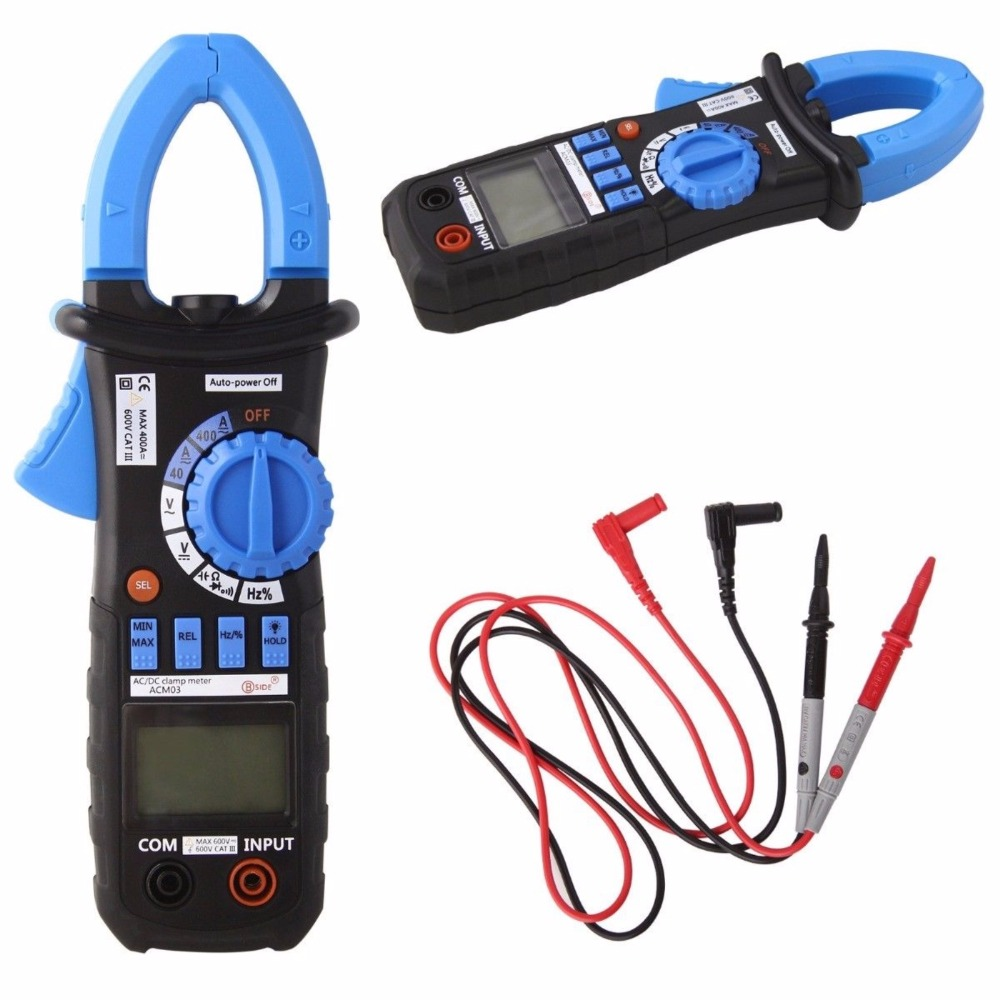 2018 Hot Digital Multimeter Amper Clamp Meter MS2108A Current Clamp Pincers AC/DC Current Voltage Capacitor Resistance Tester ms2108a digital clamp meter amper multimeter current clamp pincers ac dc current voltage capacitor resistance tester