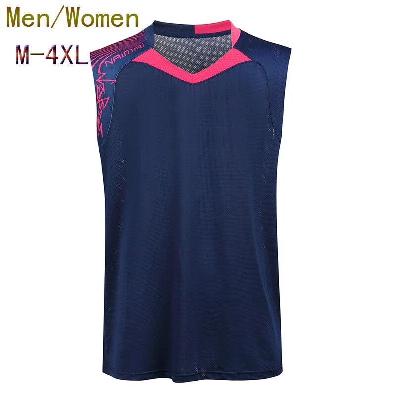Badminton sleeveless Jersey Women/Men,badminton shirt,Table Tennis shirt,sleeveless Tennis sport shirt,ping pong shirt PQ2018
