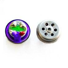 лучшая цена 2pcs/ lot 7.8mm 32 ohm Titanium Film Monitor Headphone Driver Unit for IE800 HiFi Clear Loudspeaker