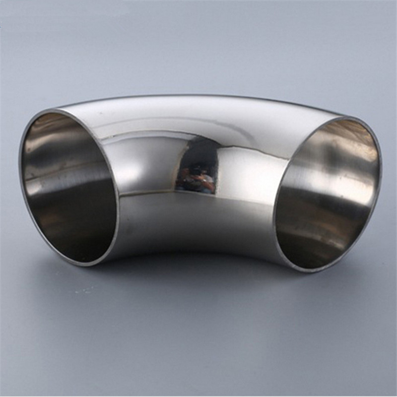 Mm o d stainless steel sanitary weld degree elbow
