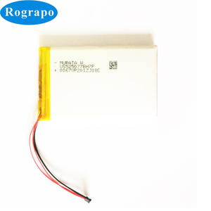 Nieuwe 3600mAh Li-Polymer Batterij Voor Vervanging FIIO X5 X3 X7 II III Player Speaker Accumulator 4- draad Plug(China)