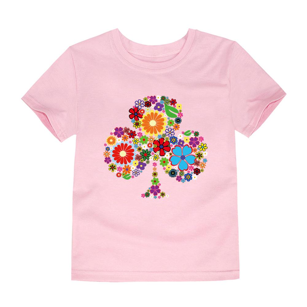 HTB1hcfDRFXXXXaSapXXq6xXFXXXP - TINOLULING 2018 Summer Kids Flower Tree T-Shirt Boys Girls Tree T Shirt Children Tops Baby Tees For 2-14 Years