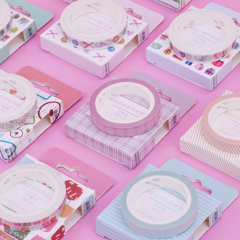 0.8cm*7m Lace Decoration Washi Tape DIY Decoration Scrapbooking Planner Masking Tape Adhesive Tape Kawaii Stationery