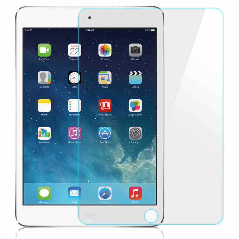Anti-Scratch Tablet Toughened Tempered Glass For Apple IPad 2 3 4 Screen Protector For Apple IPad Air Air1 Air2 Protective Film