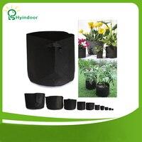 Tuin Potten 25 gallon Ronde Stof Wortel Container Grow Bag Stof Plant Pot Groeit Cultuur Planten Potten