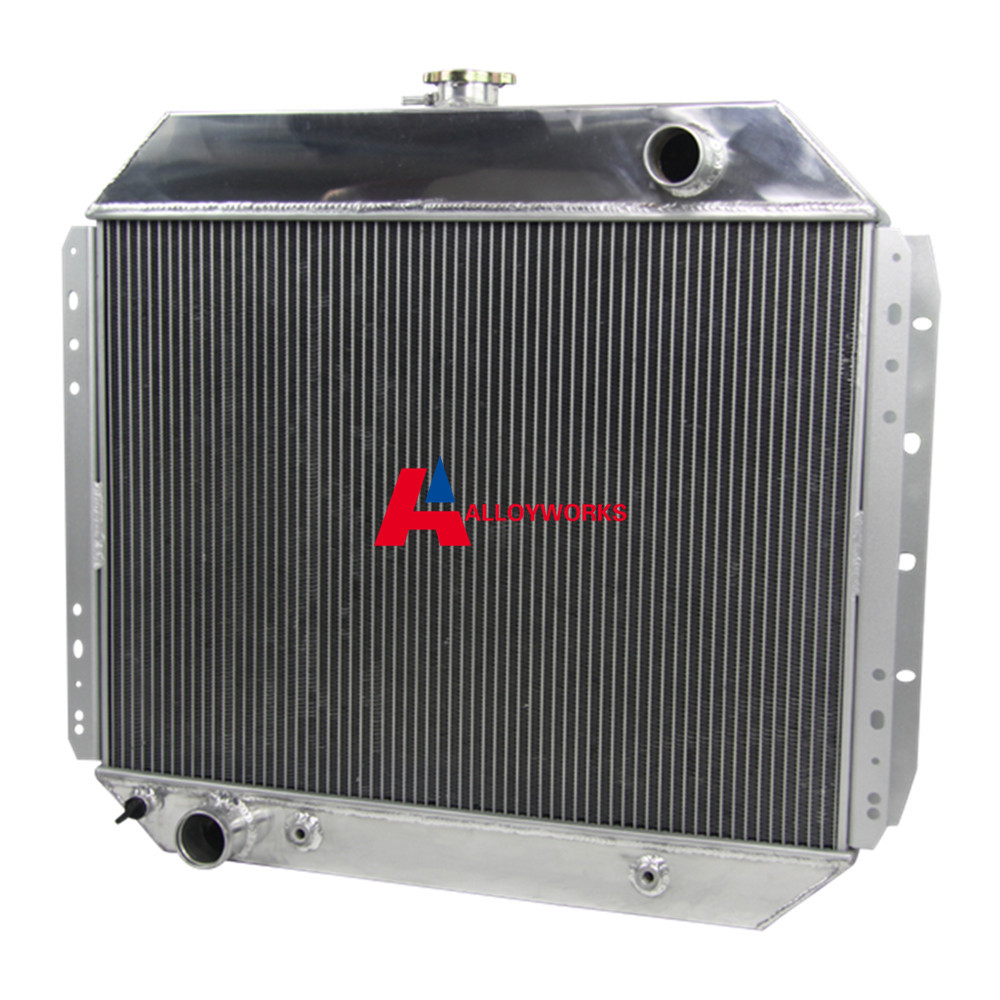 High Quality NEW CAR 3 ROW ALUMINUM TRUCK RADIATOR 1966 1979 FOR FORD F100 F150 F250 F350 Auto ...
