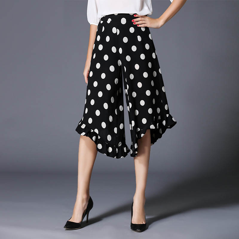 Compare Prices on Polka Dot Wide Leg Pants Women- Online Shopping ...