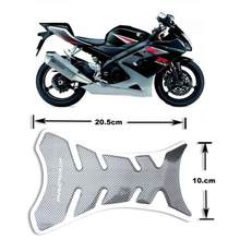 Universal Motorcycle Oil Tank Stickers Car-styling 3D Carbon Fiber Motorcycle Tank Pad Tankpad Protector Sticker(China)