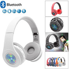 Noise Cancelling Headphones Wireless Bluetooth 4.1 Headset with microphone for phones PC With Microph Fone de ouvido Dropship#G1(China)